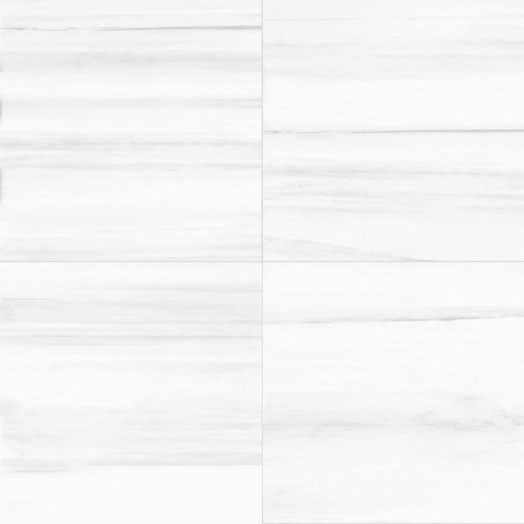 Themar Bianco Lasa 24x24, Matte, Square, Porcelain, Tile