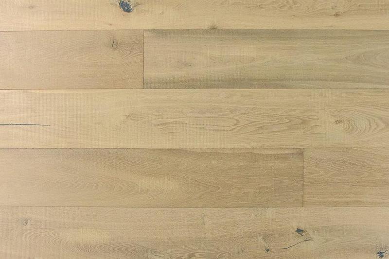 Audere By Montserrat True Tuscan 9xfree length, Wire-Brushed, Tan, European-Oak, Engineered-Hardwood, Wood