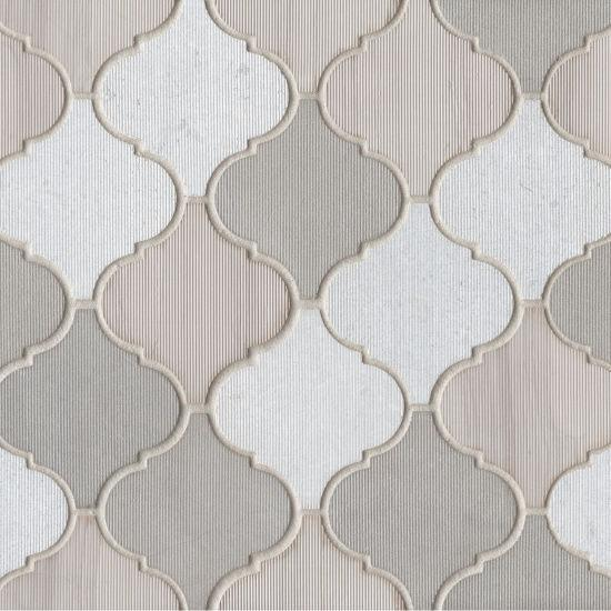 Luxembourg Louvre Arabesque Matte Marble  Mosaic