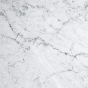 Bianco Carrera Marble Tile 18x18 Honed
