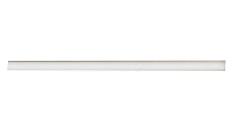 Calacatta Marble Trim 0.56x12 Honed   0.75 in