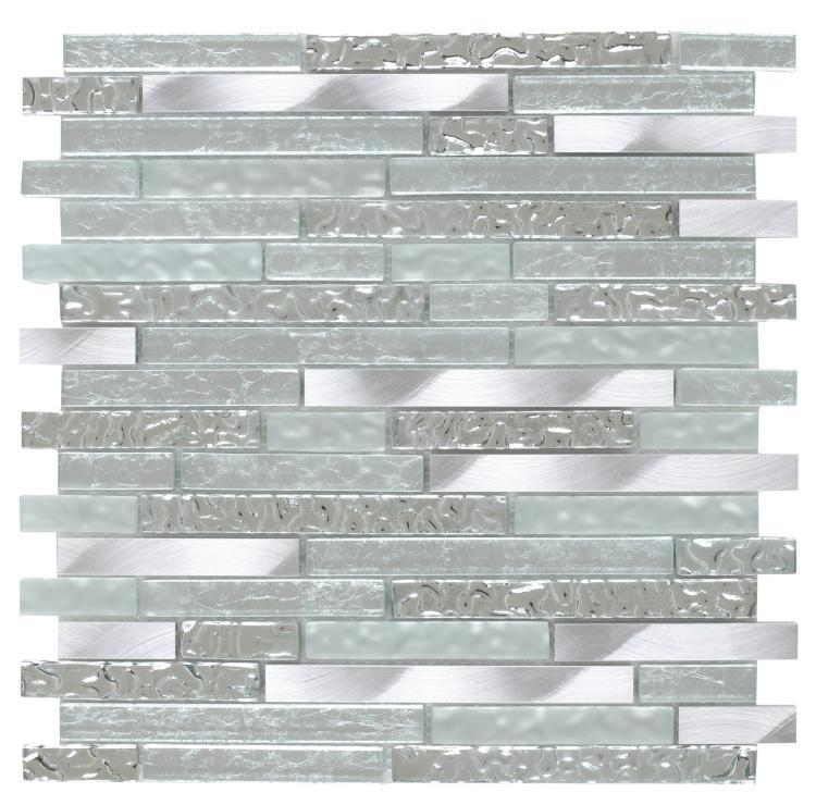 Metal Ceres Silver Linear    Mosaic