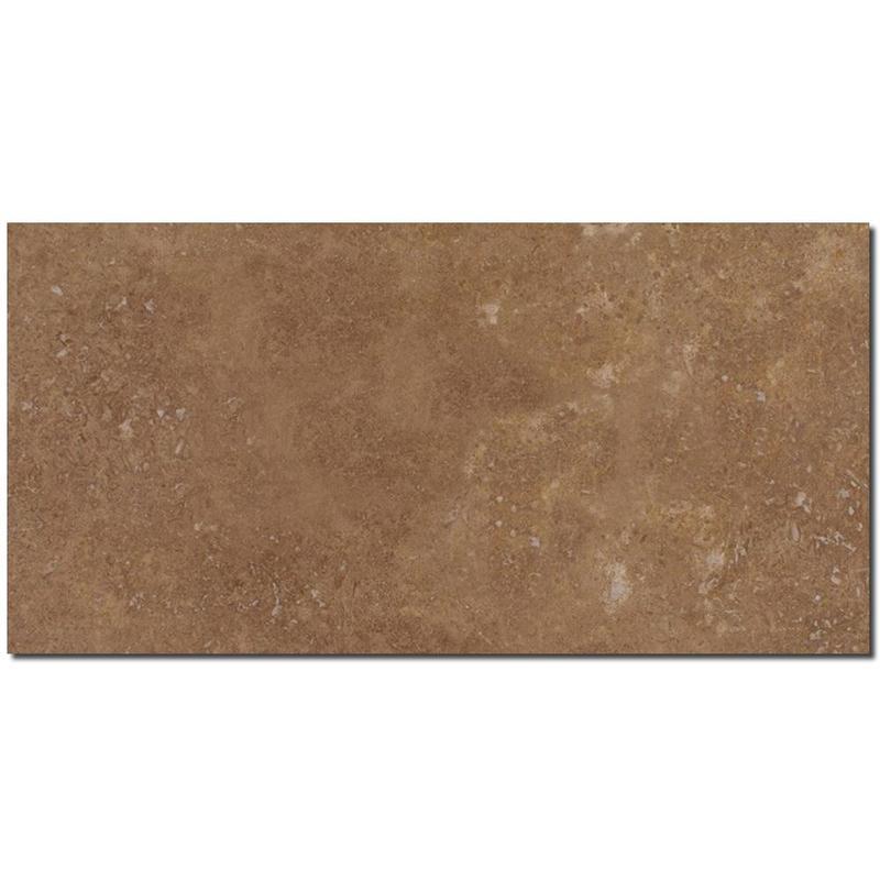 Noce Travertine Tile 12x24 Honed, Filled