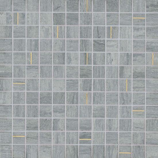 Ferrara Argento 1x1 Square Honed Marble  Mosaic