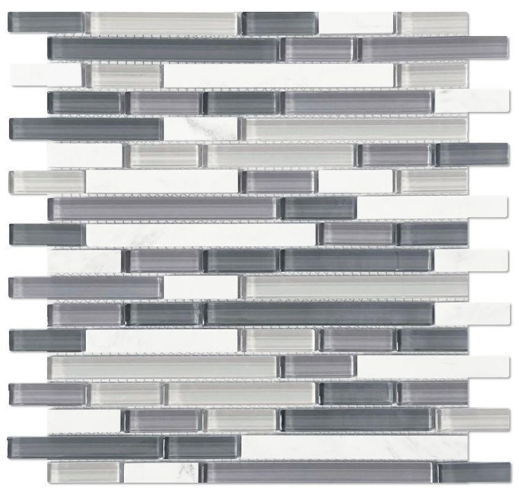 Linear Glass Sea Stack    Mosaic