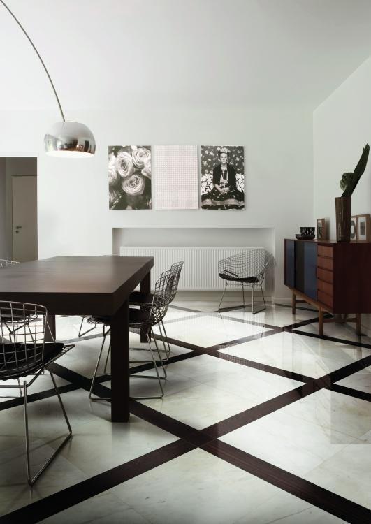 Bianchi Sorrento Polished 32x32 Porcelain  Tile