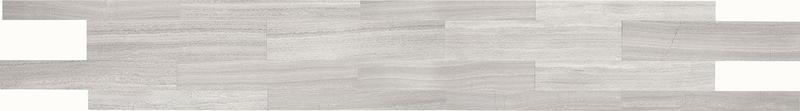 Limestone Collection Chenille White 4x36, Honed, Rectangle, Tile