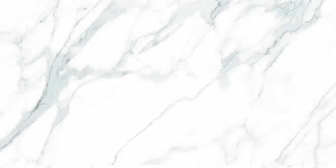 Porcelain Calacatta White 64x128 12 mm Polished  Slab