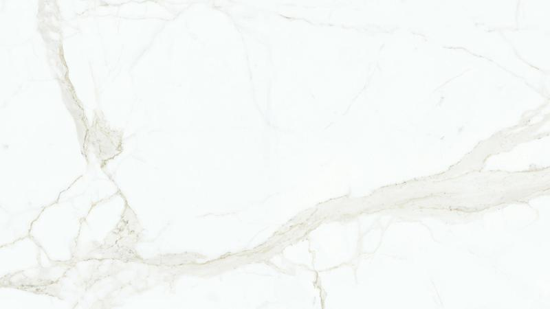 Magnifica Calacatta A Super White Bookmtch 60x126 12 mm Satin Color Body Porcelain Slab