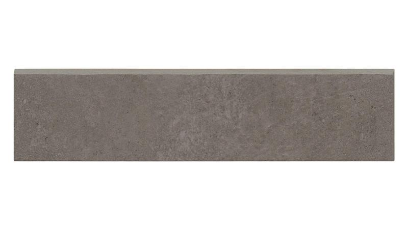 Simply Modern Coffee Honed 3x12 Color Body Porcelain Bullnose