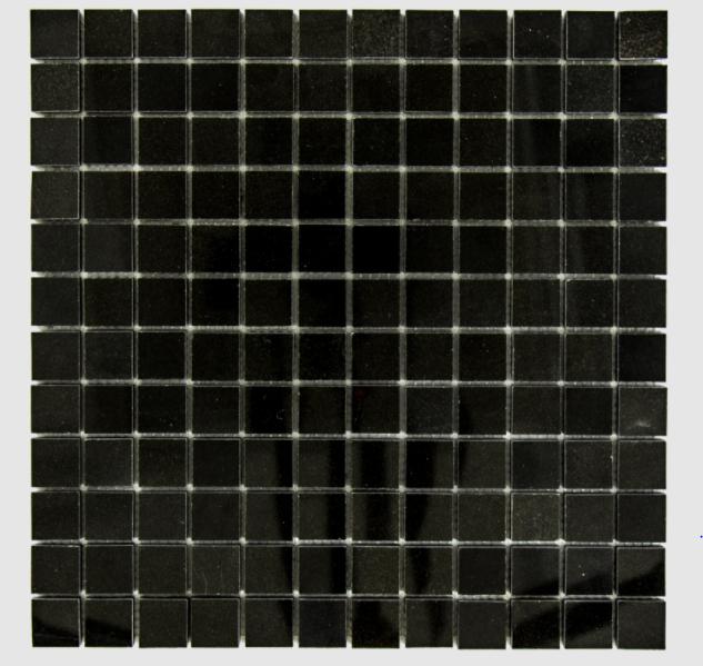Granite Absolute Black 1x1 Square Polished   Mosaic