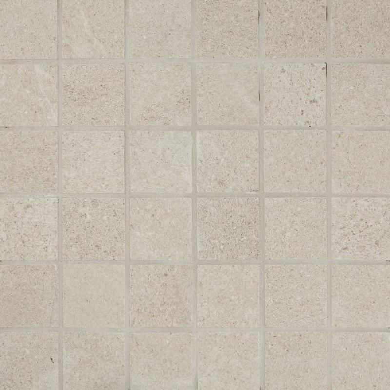 Pietra Italia Beige 2x2, Standard, Square, Through-Body-Porcelain, Mosaic