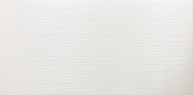 Lines White Glazed, Glossy 12x24 Porcelain  Tile