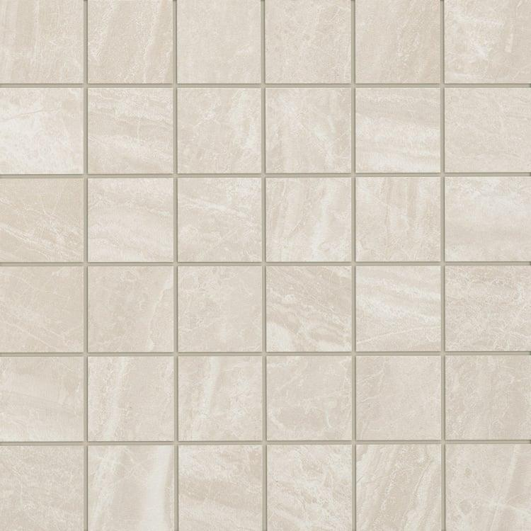 Cosmic Ivory 2x2, Glazed, Square, Color-Body-Porcelain, Mosaic