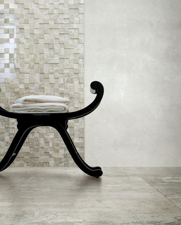 I Travertini Beige Glossy 16x32 Porcelain  Tile