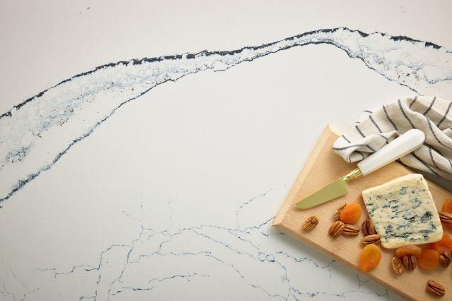 Luxury Portrush 65.5x132, 2 cm, Polished, Cream, Quartz, Slab