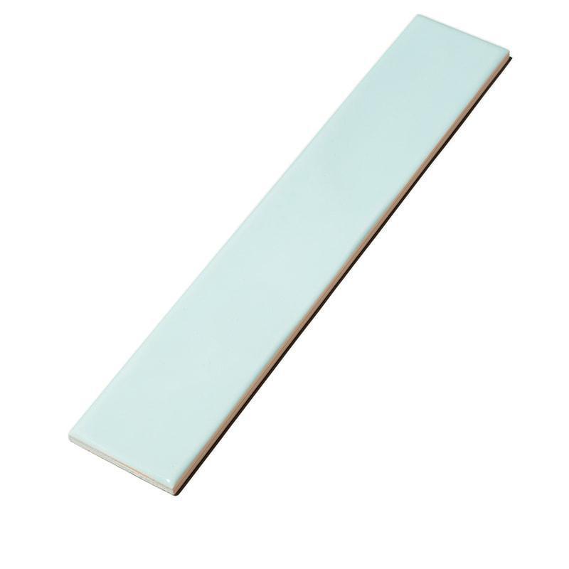 Dreamtile Wave Aqua Glossy 2.75x16 Ceramic  Tile