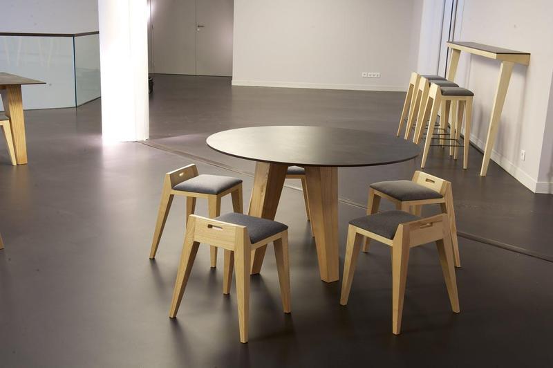 Group 0 Industrial On Tiles Milar Suggested Size 56x62, Smooth-Matte, Dark Brown, Porcelain, Tile
