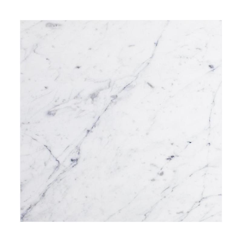 Bianco Carrara Natural Stone Tile 6x6 Tumbled