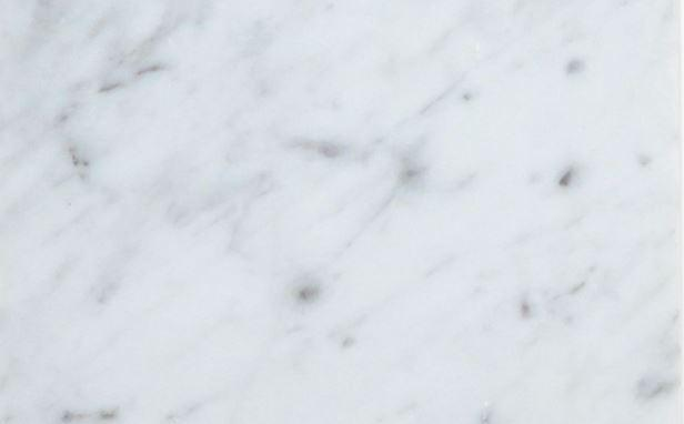 Italian Carrara White Marble Tile 3x6 Honed