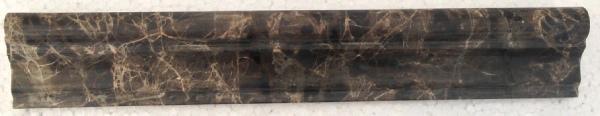 Emperador Dark Marble Trim 2x12 Honed    f5 chairrail