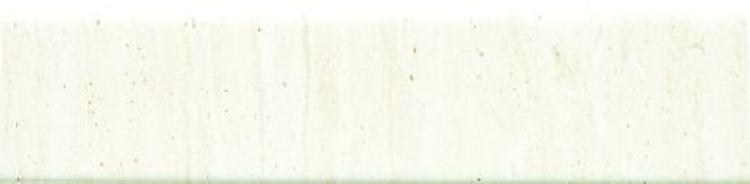 Travertine White Glazed 3x12 Ceramic Bullnose