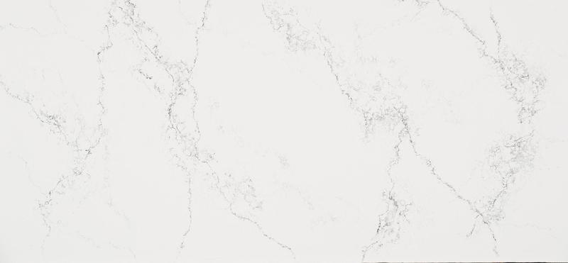 Supernatural Collection Empira White Standard 57x120 30 mm Polished Quartz Slab