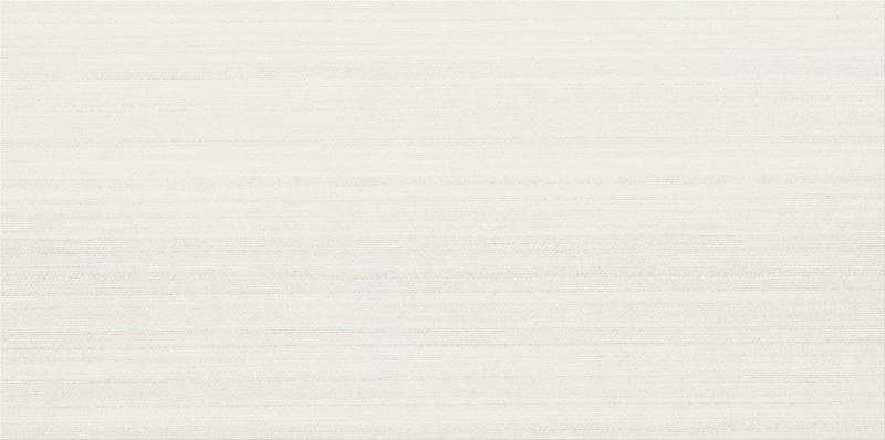 Fabric Art Modrn Linr White 12x24, Matte, Rectangle, Color-Body-Porcelain, Tile