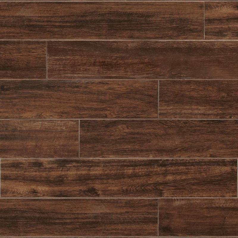 American Estates Spice 6x36, Matte, Plank, Color-Body-Porcelain, Tile