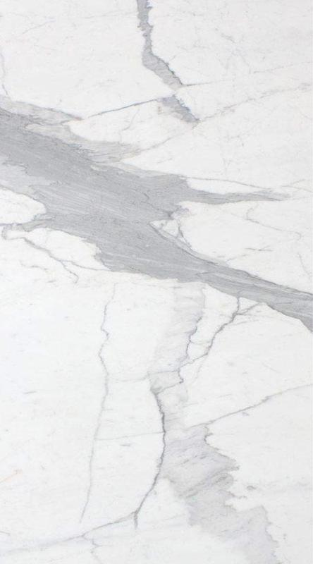 Marble Slabs Calacatta Vision 1.97 in Unpolished Natural Stone Slab