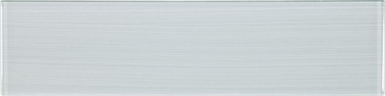 Large Glass Tile Lucy Grey Goose Subway Glossy   Mosaic