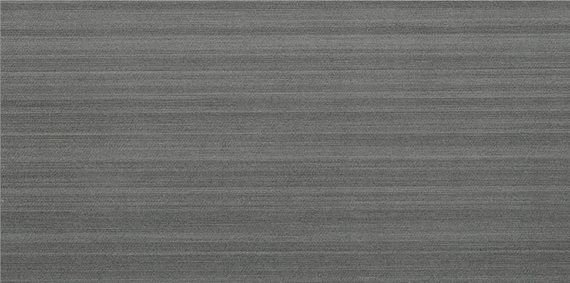 Fabric Art Modrn Linr Drk Gray 12x24, Matte, Dark Grey, Rectangle, Color-Body-Porcelain, Tile