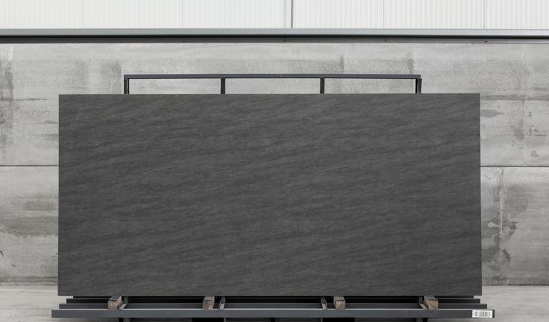 Fusion Basalt Grey 60x125 6 mm Satin Neolith Slab
