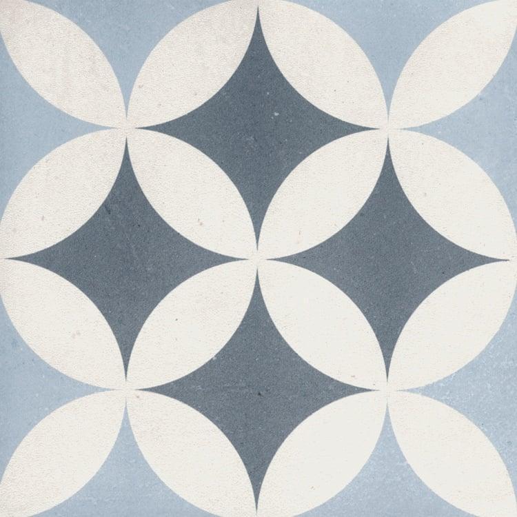 Reverie Décor 12 8x8, Glazed, Square, Through-Body-Porcelain, Tile