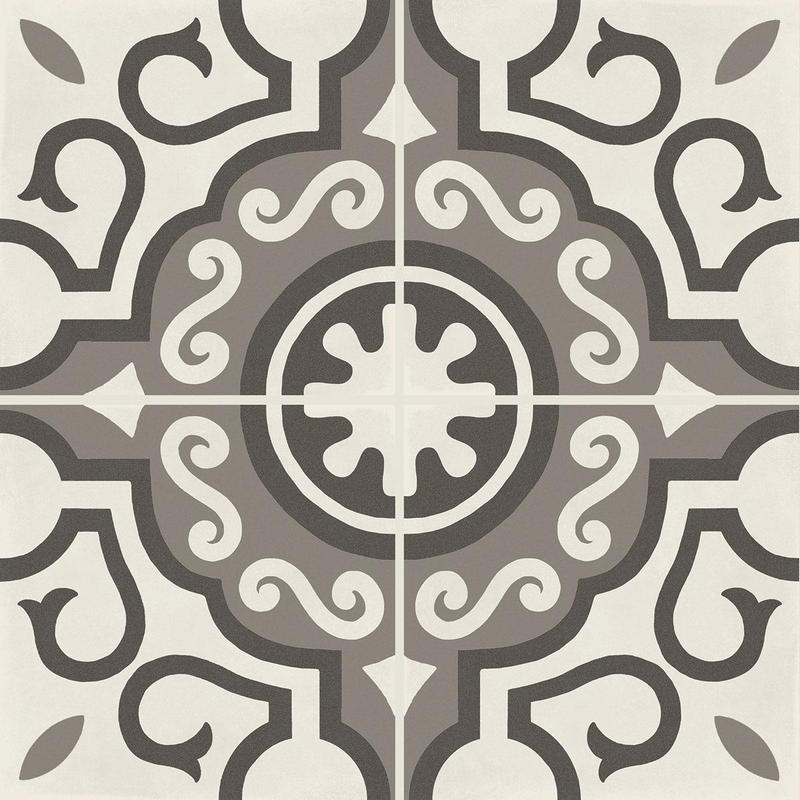 D Segni Blend Parision Deco 8x8, Matte, Square, Porcelain, Tile