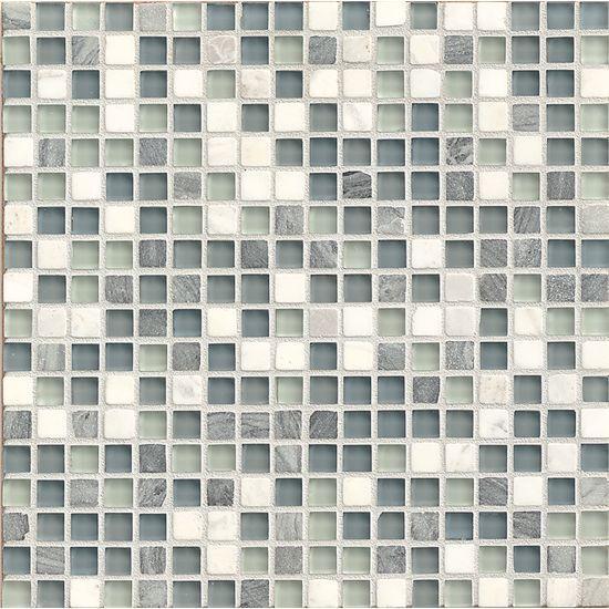 Eclipse Marina 0.62x0.62 Square Glossy Glass  Mosaic