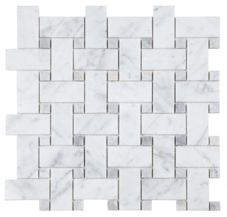Precious Stone Cross Loft Pinwheel Polished Marble  Mosaic