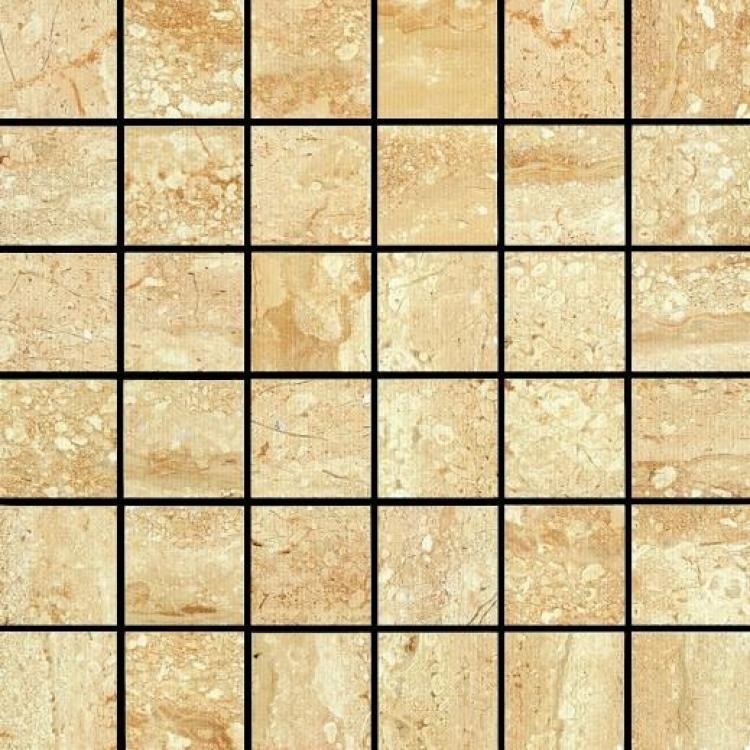 Desert 2x2 Square Glazed Ceramic  Mosaic