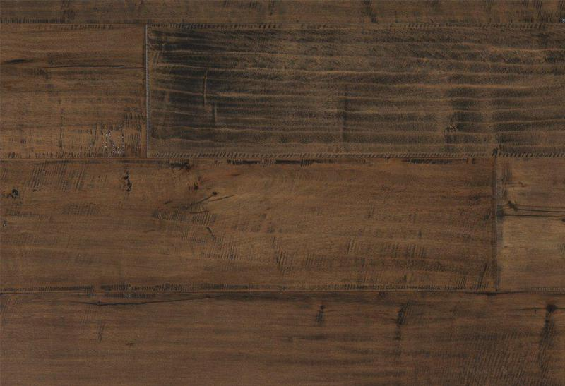Cadence Maple Collection Spice 7.5xfree length, Hand-Scraped, Brown, Engineered-Wood