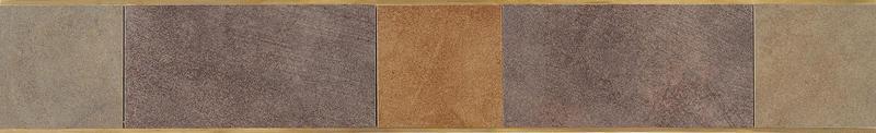 Veranda Solids Deco A Border 3x20, Matte, Color-Body-Porcelain, Tile