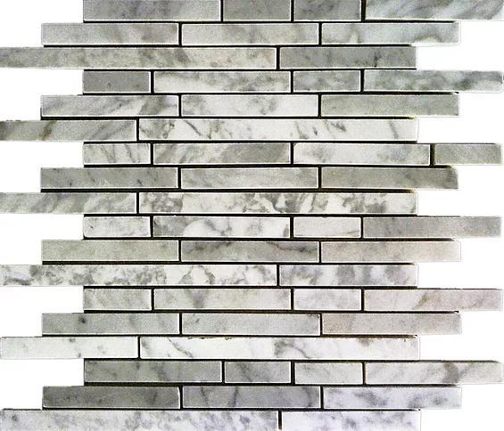 Stone Mosaic Italy White Marble