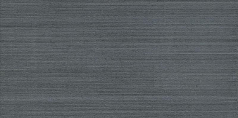 Fabric Art Modrn Linr Midnight Blue 12x24, Matte, Rectangle, Color-Body-Porcelain, Tile