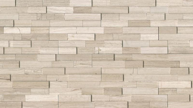 Ashen Grey Marble Tile 6x24 Honed   0.75 in