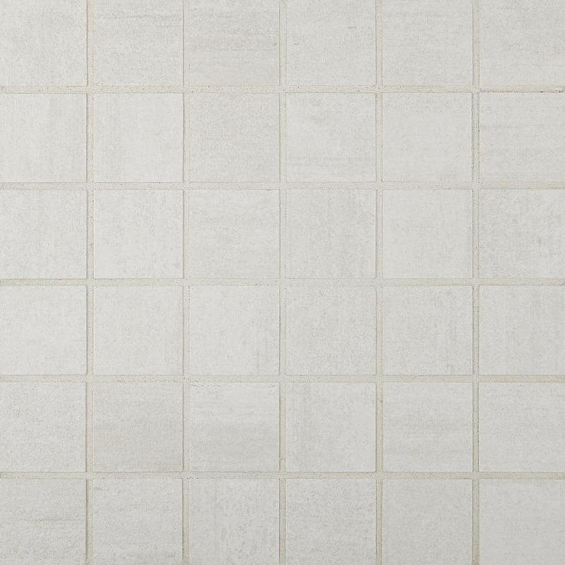 Cemento Cassero Bianco 2x2, Matte, Square, Color-Body-Porcelain, Mosaic