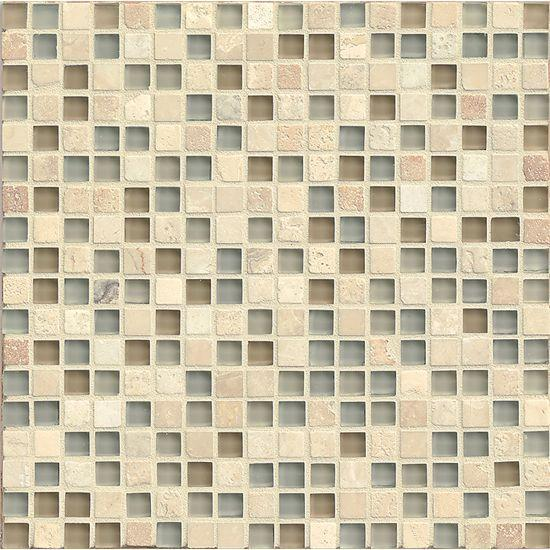 Eclipse Tranquility 0.62x0.62 Square Glossy Glass  Mosaic