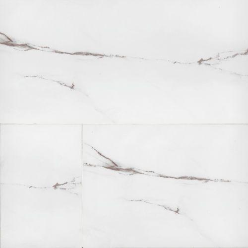 Bianco Pietra White Stone Matte 24x48 Porcelain  Tile (Discontinued)