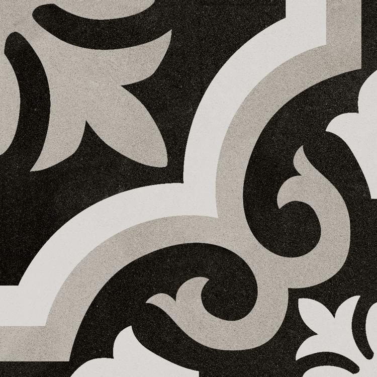 Bouquet Tiffany Cuadrado Single 9.5x9.5, Glazed, Square, Porcelain, Tile