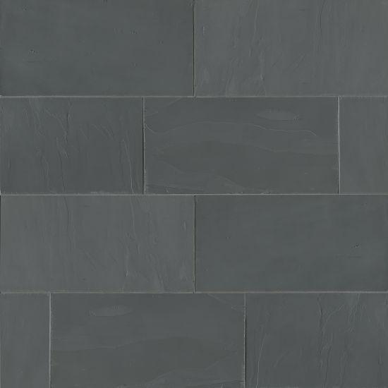 Andhra Black Slate Tile 12x24 Gauged
