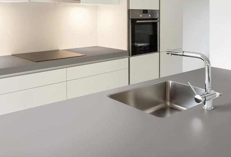 Group 2 Solid Collection Ventus Standard Size 57x126, 12 mm, Smooth Matte, Light Grey, Porcelain, Slab