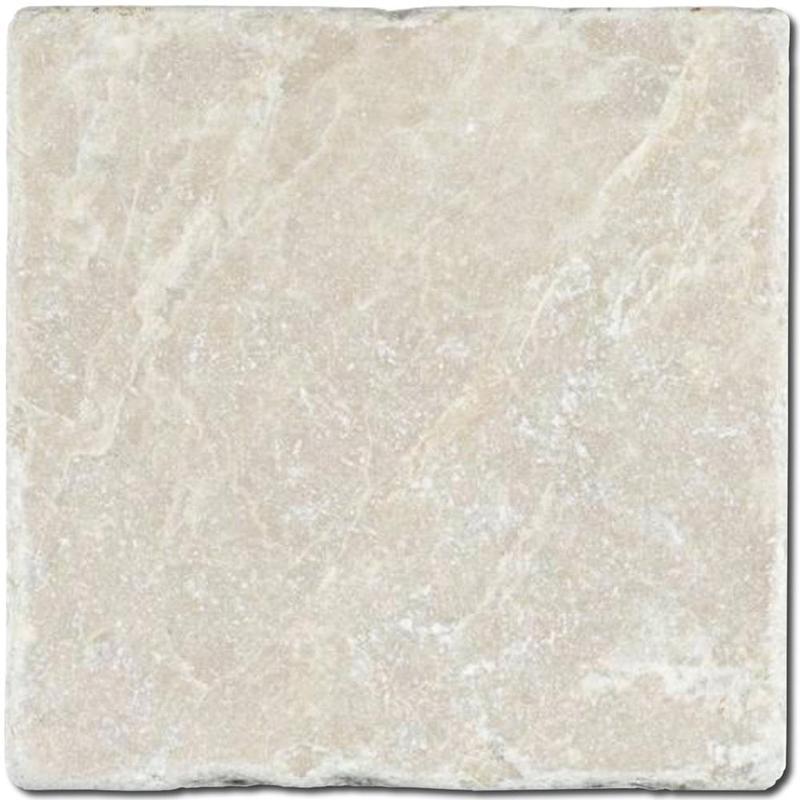 Botticino Marble Tile 4x4 Tumbled